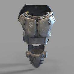 X01.2290.jpg Download STL file Fallout X-01 Power Armor Chest Wearable • 3D printer model, 3dprintuniverse