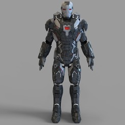 _untitled.2060 — копия (10).jpg Download STL file Iron Man War Machine Mark 4 Full Armor Wearable • 3D print design, 3dprintuniverse