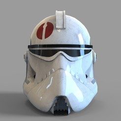 Download 3D printing models Star Wars Captain Neyo Wearable Helmet, 3dprintuniverse