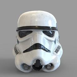 1.75.jpg Download STL file Star Wars Imperial Stormtrooper Wearable Helmet • Model to 3D print, 3dprintuniverse
