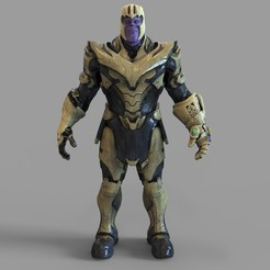 3.1066.jpg Download STL file Thanos Full Armor Wearable  • 3D printable design, 3dprintuniverse