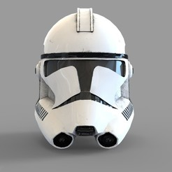 Download 3D print files Star Wars Clonetrooper Phase 2 Wearable Helmet, 3dprintuniverse