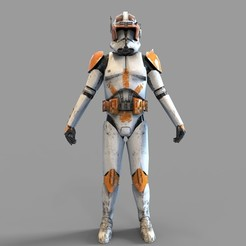 Download 3D printer files Star Wars Commander Cody Wearable Armor, 3dprintuniverse