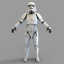 Download 3D print files Star Wars Imperial Stormtrooper Wearable Armor, 3dprintuniverse