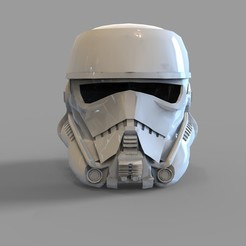 Download 3D model Star Wars Patrol Trooper Wearable Helmet, 3dprintuniverse