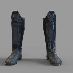Download STL Star Wars Darth Vader Leg Armor, 3dprintuniverse