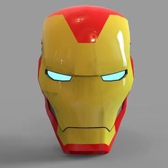 _iron man mk 85.2058 — копия (2).jpg Download STL file Iron Man Mark 85 Helmet Wearable • 3D printer design, 3dprintuniverse