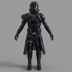Download STL file Star Wars Purge Trooper Wearable Armor, 3dprintuniverse