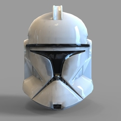 Download STL file Star Wars Clonetrooper Phase 1 Wearable Helmet, 3dprintuniverse