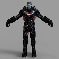 untitled.976.jpg Download STL file War Machine mk 4 Full Armor Wearable • 3D print template, 3dprintuniverse
