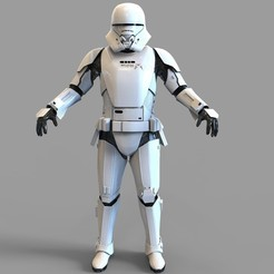 Download 3D print files Star Wars Jet Trooper Full Armor Wearable, 3dprintuniverse