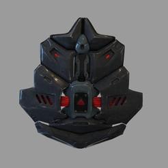 Download 3D printing files Batman Beyond Wearable Armor Back Part, 3dprintuniverse
