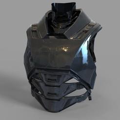 _untitled.2289 — копия (1).jpg Télécharger fichier STL Batman Armored from Batman VS Superman Movie Chest Part • Design imprimable en 3D, 3dprintuniverse