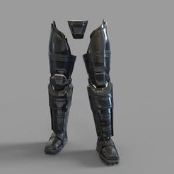 Download 3D printing models Batman Armored from Batman VS Superman Movie Legs Part, 3dprintuniverse