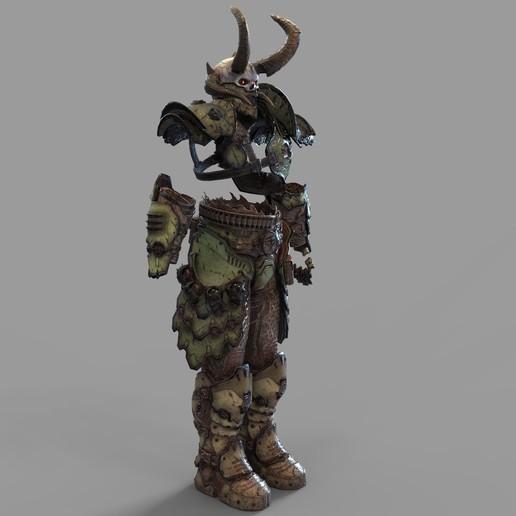 Download 3d Printer Model Doom Eternal Marauder Full Armor