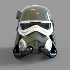 Download 3D printer files Star Wars Mud Trooper Wearable Helmet, 3dprintuniverse