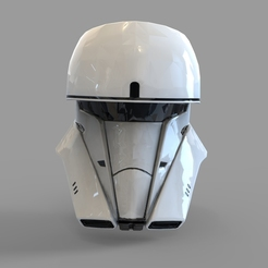 Download 3D printing templates Star Wars Tank Trooper Wearable Helmet, 3dprintuniverse