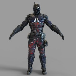 _1.1283 — копия (7).jpg Download STL file Batman Arkham Knight Full Armor Wearable • 3D printable model, 3dprintuniverse