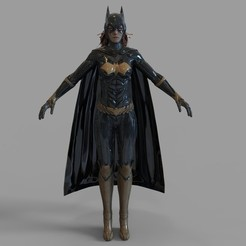 Download 3D printer files Batgirl Full Armor Wearable, 3dprintuniverse