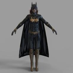 Imprimir en 3D Batichica con armadura completa, 3dprintuniverse