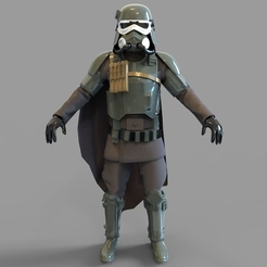 Download 3D printing models Star Wars Mud Trooper Wearable Armor, 3dprintuniverse