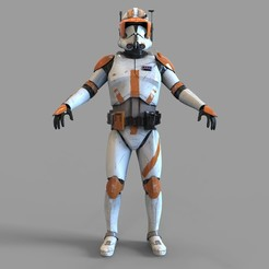 _untitled.1313 — копия (8).jpg Download STL file Commander Cody Full Armor Wearable • Model to 3D print, 3dprintuniverse