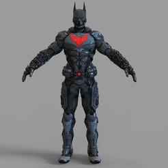 Download STL files Batman Beyond Wearable Full Armor , 3dprintuniverse