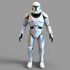 1.jpg Télécharger fichier STL Blindé de commando de la République de la Guerre des étoiles • Objet à imprimer en 3D, 3dprintuniverse