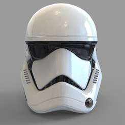 Download STL file Star Wars First Order Stromtrooper Wearable Helmet, 3dprintuniverse