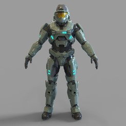 _halo noble 6 mark 5.2124 — копия (10).jpg Download STL file Halo Reach Armor Noble 6 Mark 5 Wearable • Design to 3D print, 3dprintuniverse