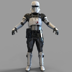 Download 3D model Star Wars Tank Trooper Wearable Armor, 3dprintuniverse