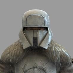 1.30.jpg Download STL file Star Wars Range Trooper Wearable Helmet • 3D printable template, 3dprintuniverse