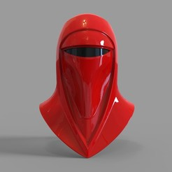 Download 3D printer designs Star Wars Royal Guard Wearable Helmet, 3dprintuniverse