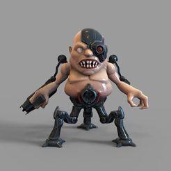 doom-eternal-carcass-toy-stl-3d-model-stl.jpg Télécharger fichier STL Doom Eternal Carcass Toy STL modèle d'impression 3D • Modèle pour impression 3D, 3dprintuniverse