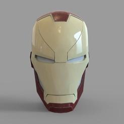 _untitled.2284 — копия (6).jpg Download STL file Iron Man Mark 46 Helmet Wearable • 3D printable model, 3dprintuniverse