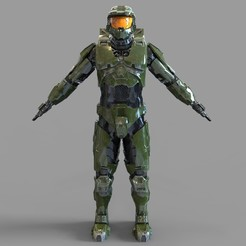 _untitled.2136 — копия (10).jpg Download STL file Halo 3 Master Chief Armor Set Mark 6 Wearable Armor • Model to 3D print, 3dprintuniverse
