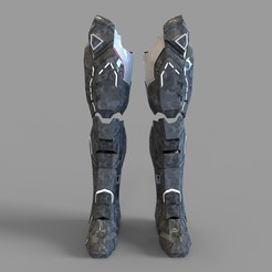 _untitled.2078 — копия (2).jpg Download STL file Iron Man War Machine Mark 4 Leg Part Wearable • 3D printer object, 3dprintuniverse