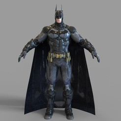 3.907.jpg Download STL file Batman Arkham Knight Full Armor Wearable • 3D printable model, 3dprintuniverse