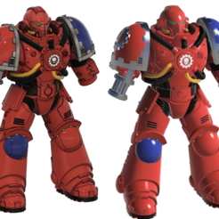 f1.png Download STL file Space Engineer In Tactical Armor • Template to 3D print, oh_my_godable
