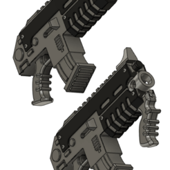 carbine.png Download free STL file High Caliber Carbines For Space Recon • 3D printer template, oh_my_godable