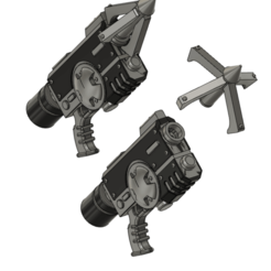 grapnel.png Download free STL file Grapnel Gun For Space Recon • Design to 3D print, oh_my_godable