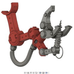 dat arm.png Download free STL file Space Engineer`s Servo Arm • 3D printing design, oh_my_godable