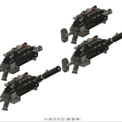 sniper.png Download free STL file High Caliber Sniper Rifles For Space Infantry • Template to 3D print, oh_my_godable