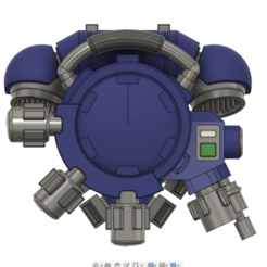 plasma ammo case.png Download free STL file Plasma Ammo Case For Space Heavy Infantry • 3D printer template, oh_my_godable
