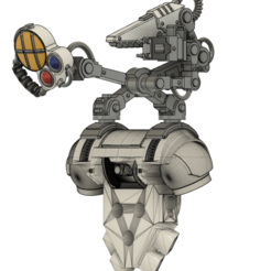 medarm.png Download free STL file Space Medic`s Servo Arm • 3D printer object, oh_my_godable