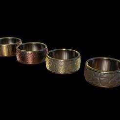 Ring_render.jpg Download free STL file The Ring/Bracelet • 3D print template, Cloudant