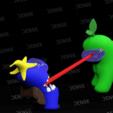 Download STL file amoung us escene • 3D print template, danxtive