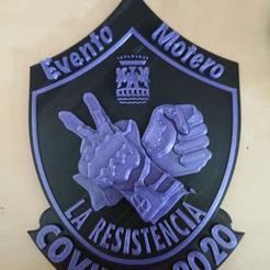 Download 3D printing models The resistance, EA2LEDQN
