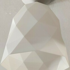 IMG_20210109_142540.jpg Download STL file LAMP LAMPSHADE TRIA LOW POLY • 3D printer template, NORPAT