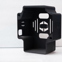 DSC09161.JPG Download STL file Simucube 2 Rev 1 Rear housing for wiring and undertray • 3D printer object, Dazted